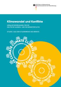 Titelbild der Studie Klimawandel und Konflikte