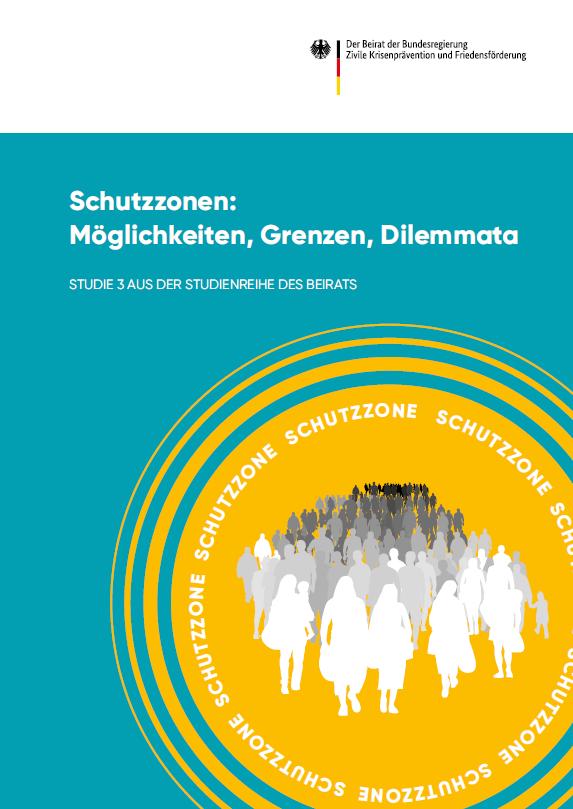 Titelseite der Studie Schutzzonen: Möglichkeiten, Grenzen, Dilemmata